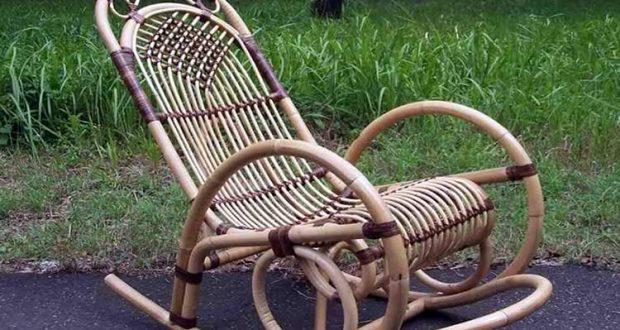 Кресло из лозы плохо поддается ремонту