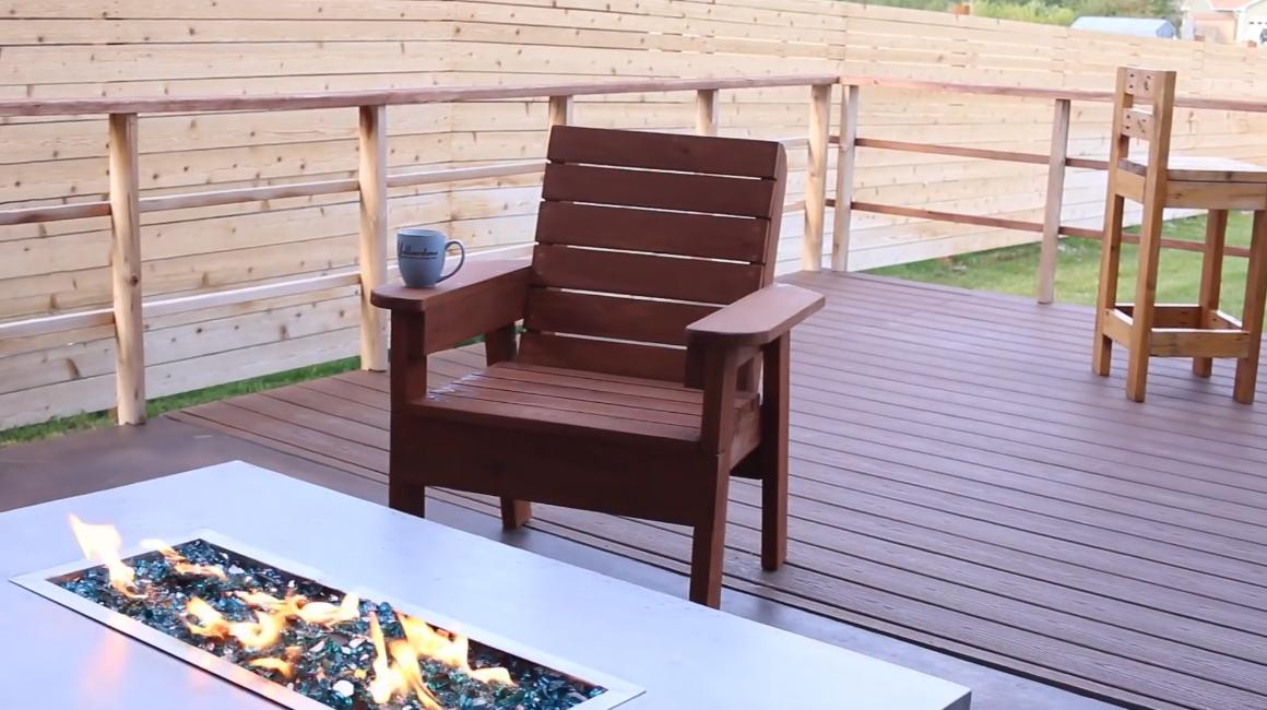 Это, казалось бы, простое и скромное кресло будет отлично смотреться как на террасе загородного дома, так и в дачном интерьере
