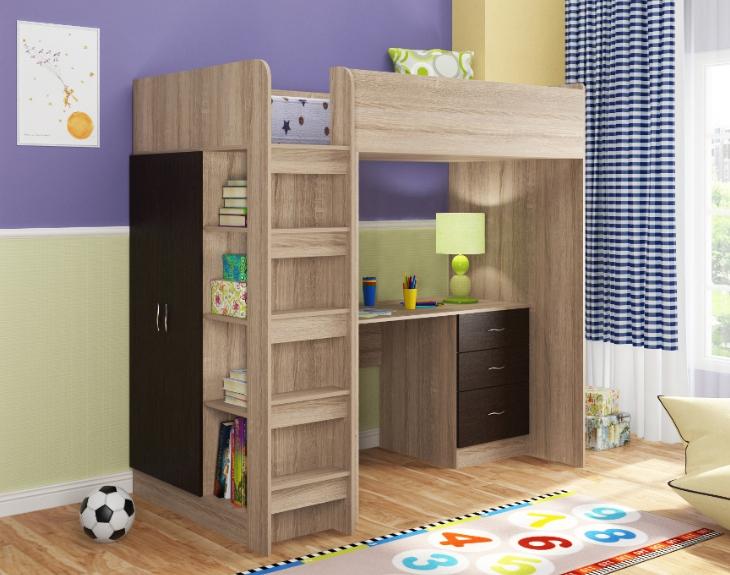 Для ребенка это не только удобная мебель, но и место для новых игр