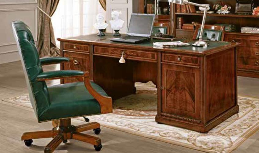 Пример роскошного стола из массива дерева в классическом стиле