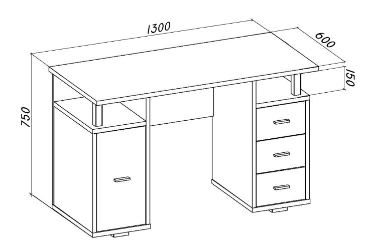 Параметры стола должны соответствовать рекомендациям, изложенным в этом разделе