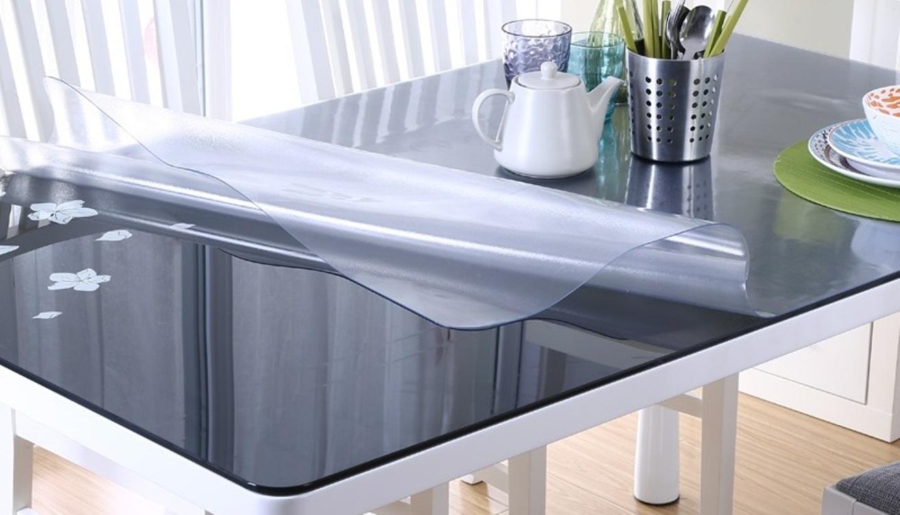 Большие накладки удобны для обеденных столов.