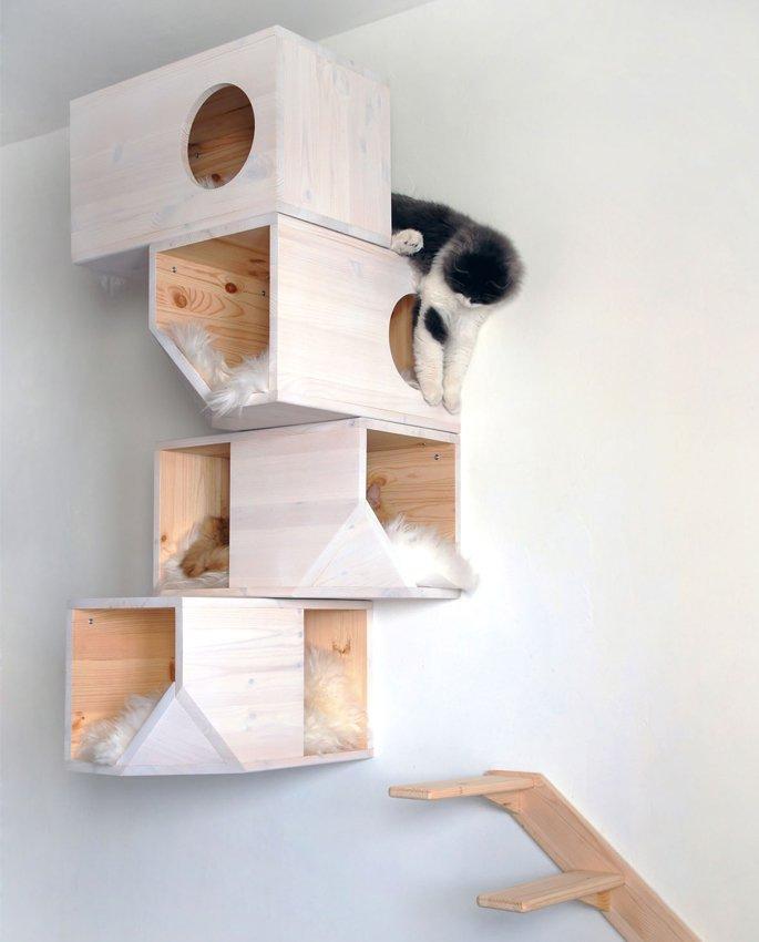 Башня для кота прекрасное решение проблем самого животного и ваших собственных