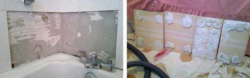 Последствия отсутствия бетоноконтакта на стенах.