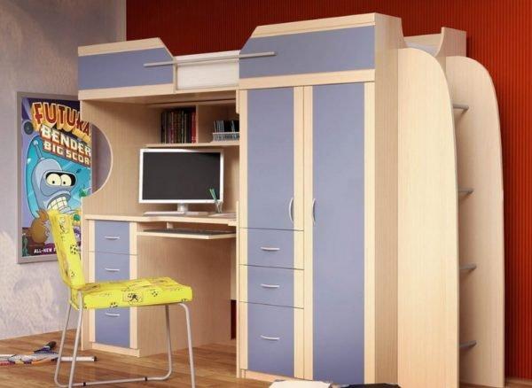 Интересное решение для детской комнаты