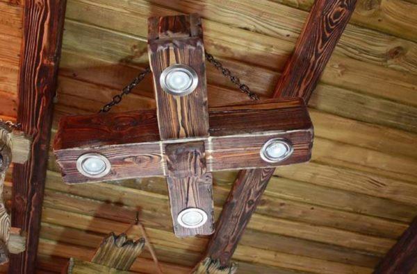 Искусственное состаривание позволяет максимально раскрыть всю красоту деревянных поверхностей