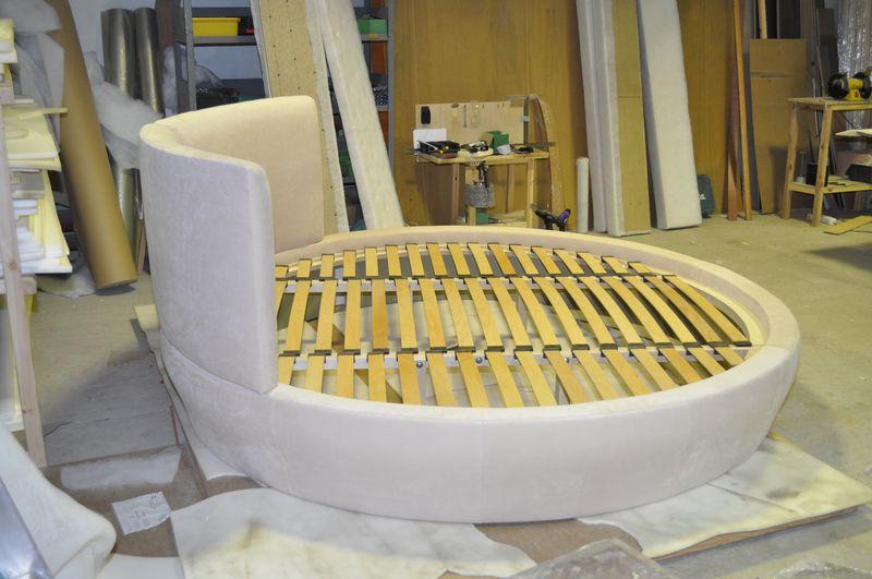 Круглая кровать своими руками видео фото 676