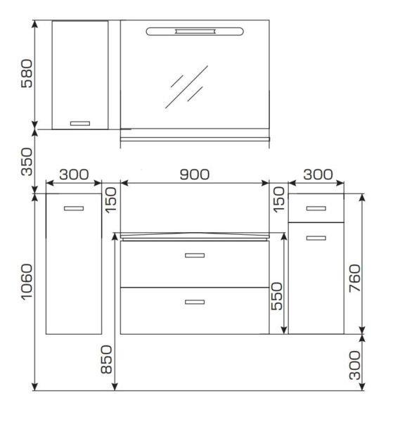 Изготовление шкафа начинается со схемы. Схема отражает общий стиль и размеры