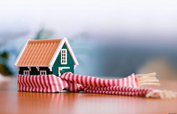 Изолированный фундамент сделает дом теплым.