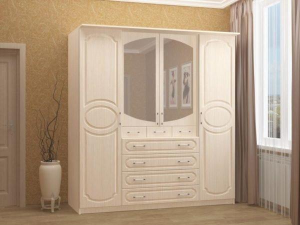 Качественный шкаф должен представлять собой жесткую конструкцию