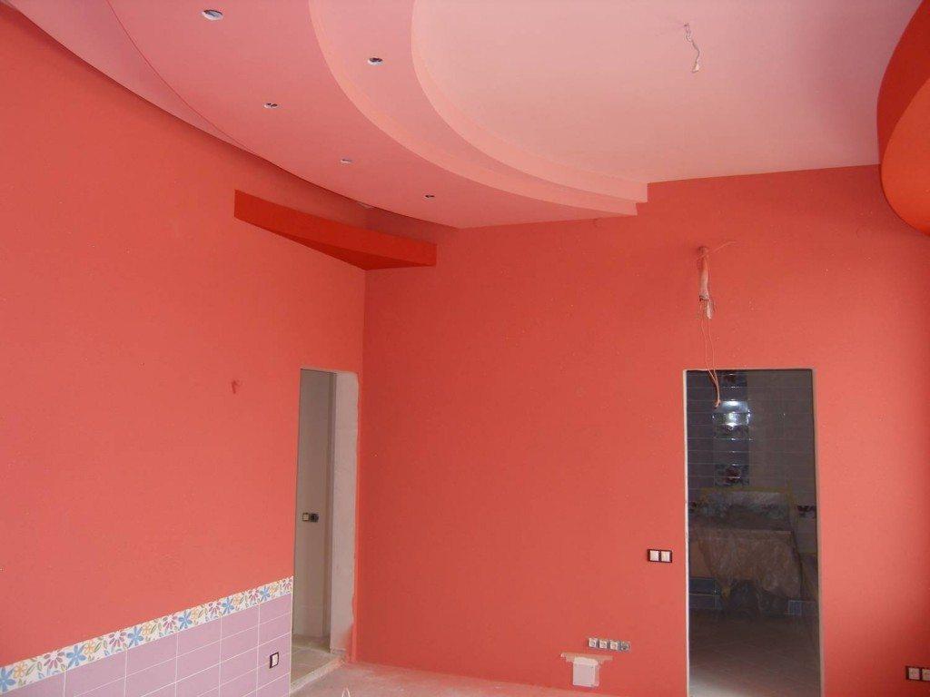 комната окрашенная вд краской