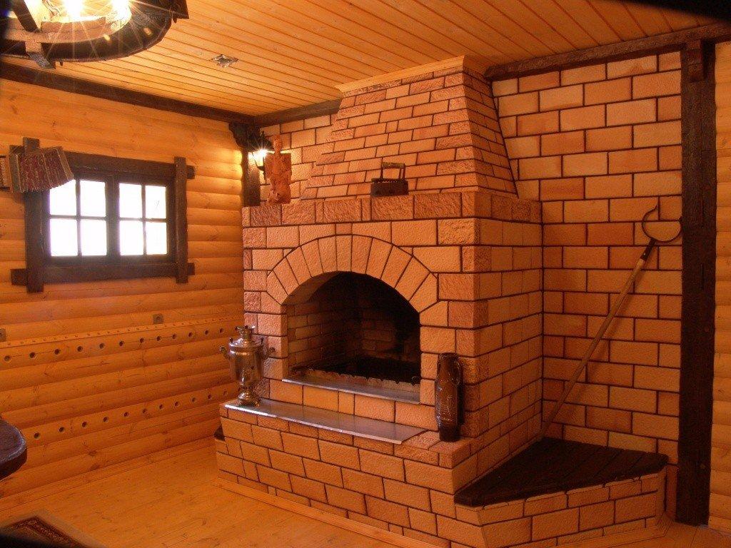 Огнеупорный кирпич для прохода через стену деревянного дома дымохода буржуйки печи