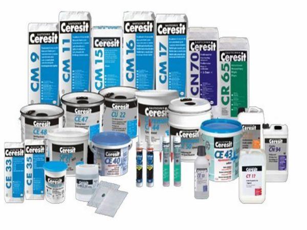 Компания Ceresit предоставит отделочные смеси на любой случай