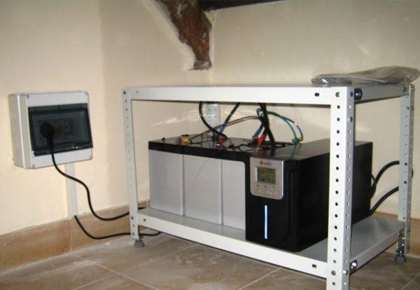 Комплект ИБП необходимо устанавливать в сухих помещениях