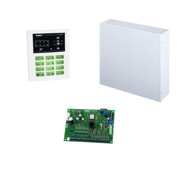 Комплект Satel CA-6 P включает всё необходимое для создания проводной сигнализации на собственном участке