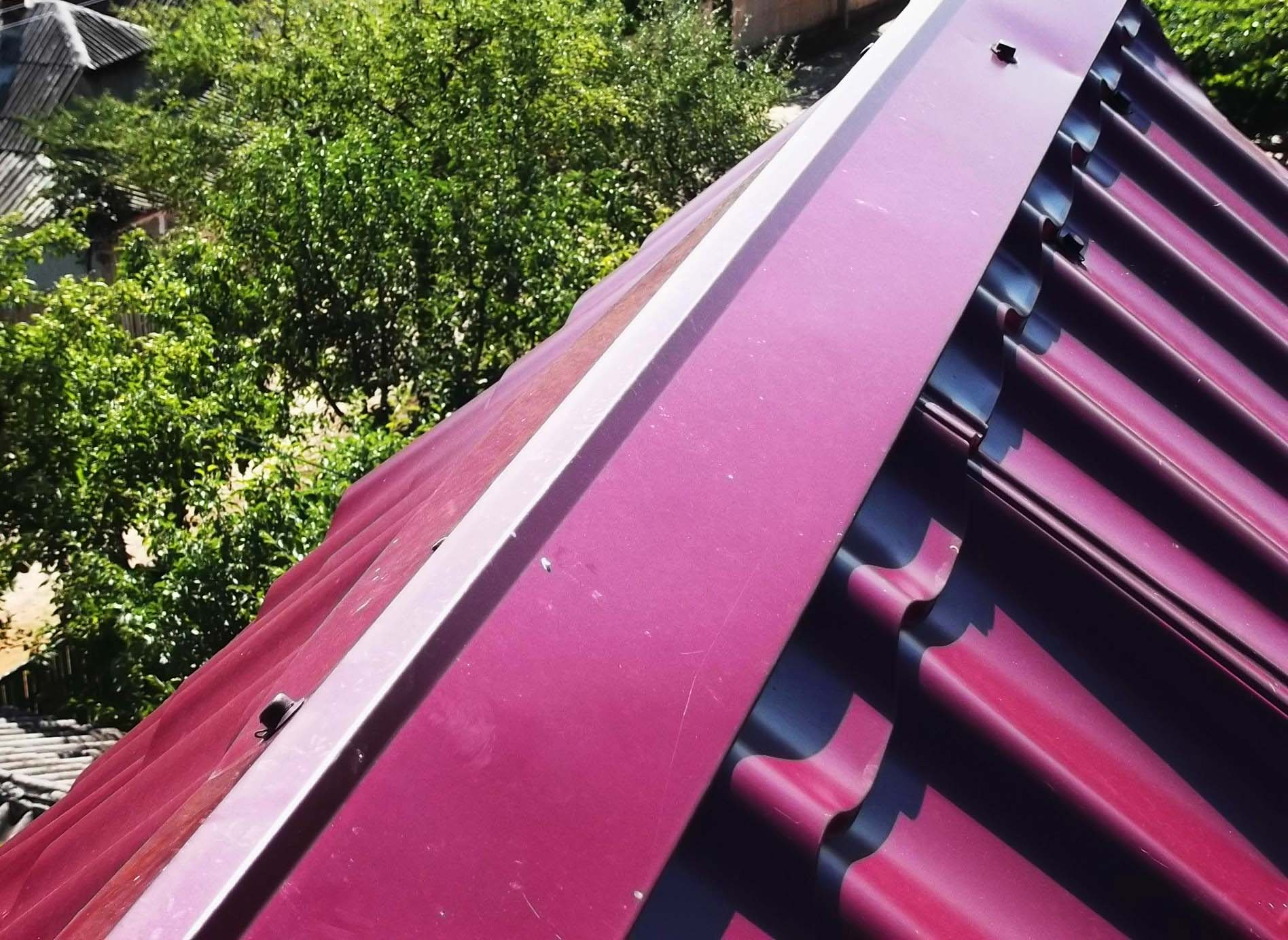 Как сделать конёк на крыше - монтаж конька крыши