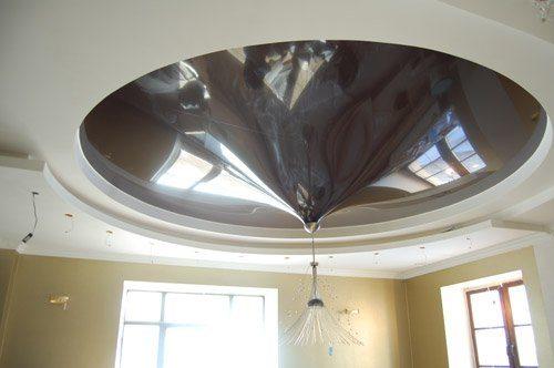 Как сделать неровный потолок