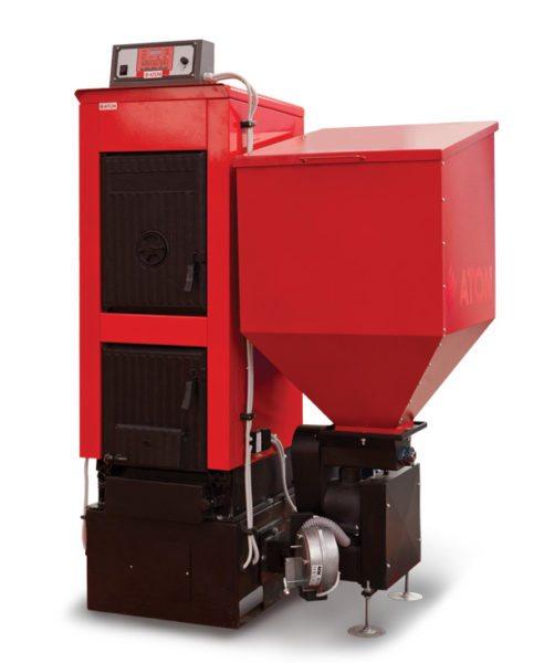 Котёл, использующий пеллеты в качестве топлива, позволяет уменьшить расходы на отопление загородного дома и автоматизировать его