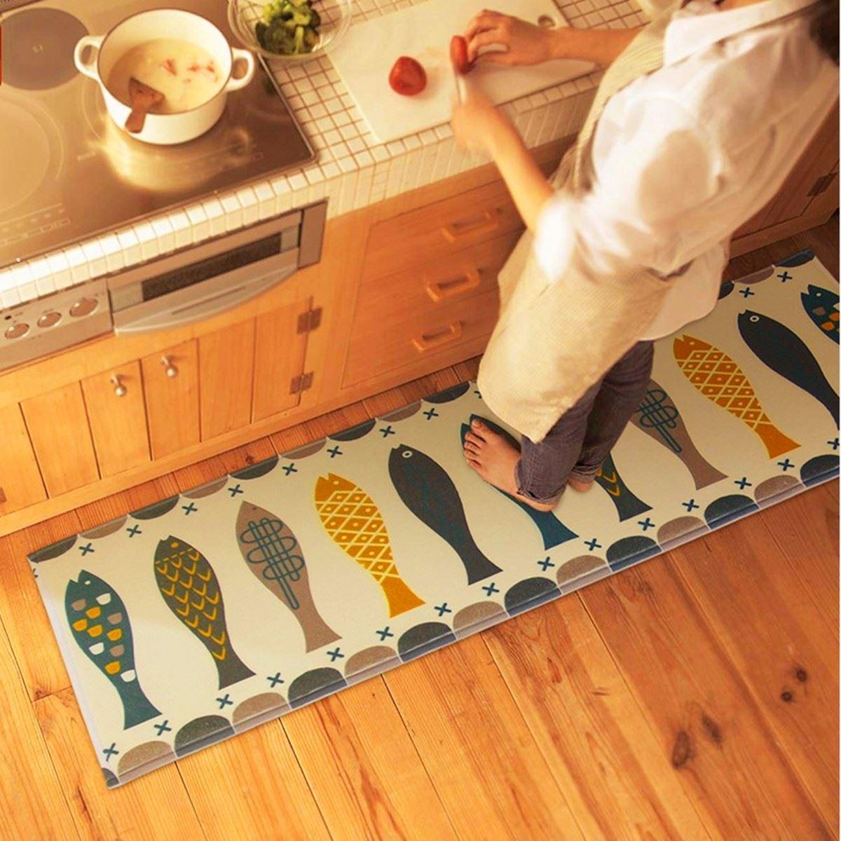 Коврик на пол на кухню: как выбрать