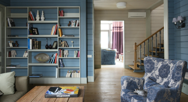 Красивый интерьер может быть не только в городских квартирах, но и на даче