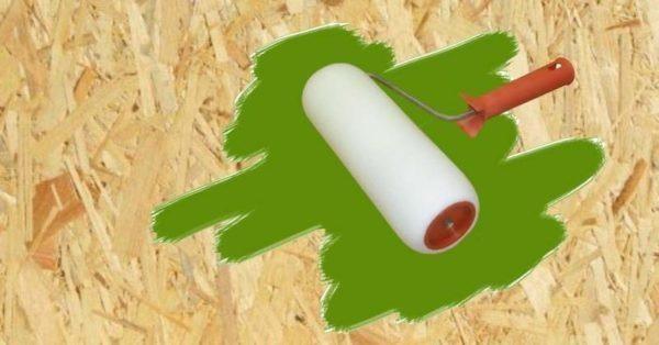 Краска способна снизить впитываемость плит.