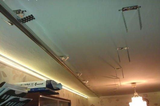 Подвесной потолок светодиоды в профиль