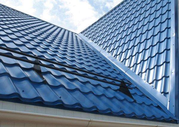 Крыша из металлочерепицы во время дождя сильно шумит
