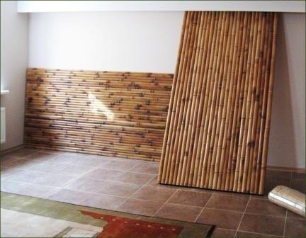 Легкие и прочные бамбуковые панели пользуются большим спросом
