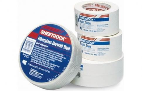 Ленты повышают прочность и качество отделки поверхностей гипсокартоном