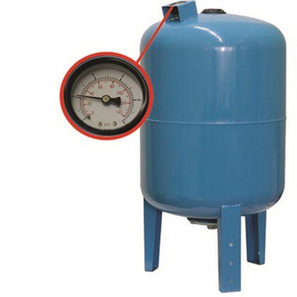 Мембранный бак поддерживает давление водопровода на одном уровне