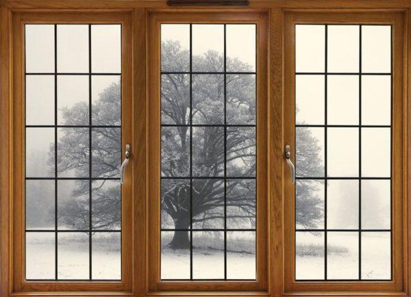Металлопластиковое окно с двумя движимыми створками