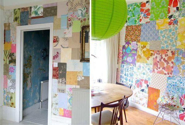 Мне кажется, декор в стиле пэчворк лучше приберечь для 2-го этажа, на первом можно поэкспериментировать с покраской