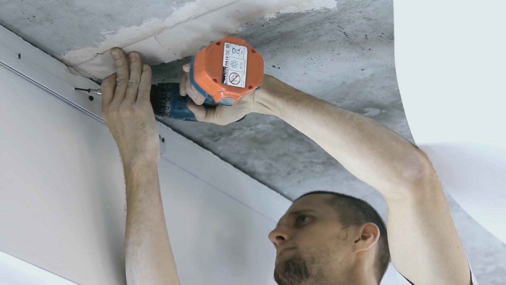 Снятие натяжных потолков своими руками