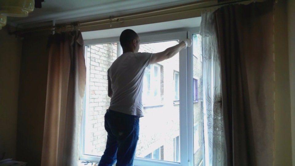 Как разобрать пластиковое окно своими руками 2