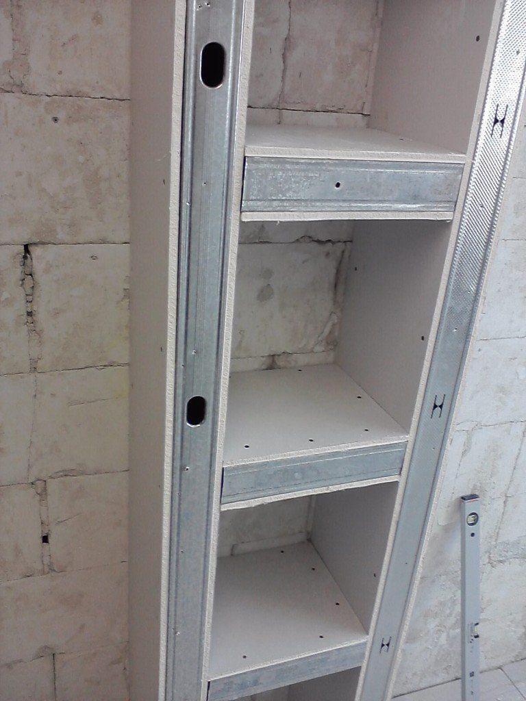Пеналы угловые в кухню из гипсокартона: как сделать мебель в 4 этапа Obustroeno.Com