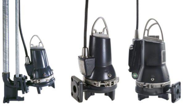 На фото самое популярное в линейке Grundfos бытовое оборудование для откачки канализационных отходов