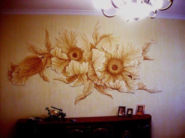 На фото: такая отделка позволяет создавать любые композиции на стенах
