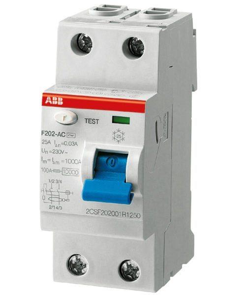 На фото УЗО – это устройство защищает человека и оборудование от токов утечки, но не сеть