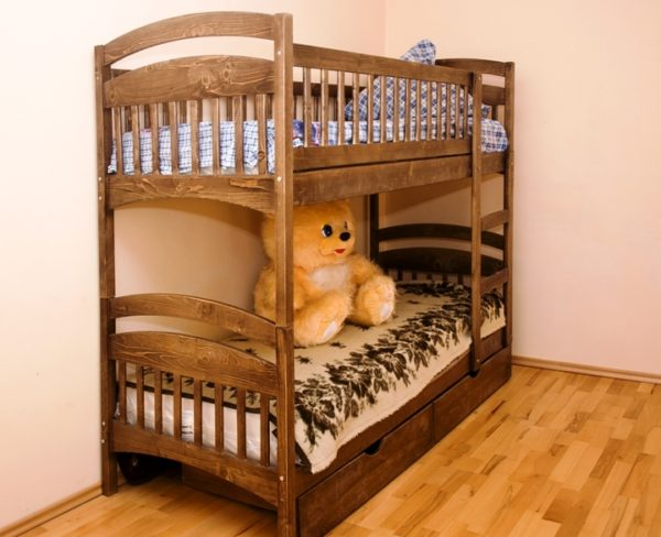 На площади занимаемой одной кроватью вы получаете сразу два спальных места