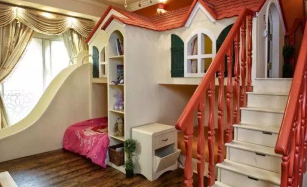 На заказ можно изготовить настоящий маленький дворец со множеством элементов