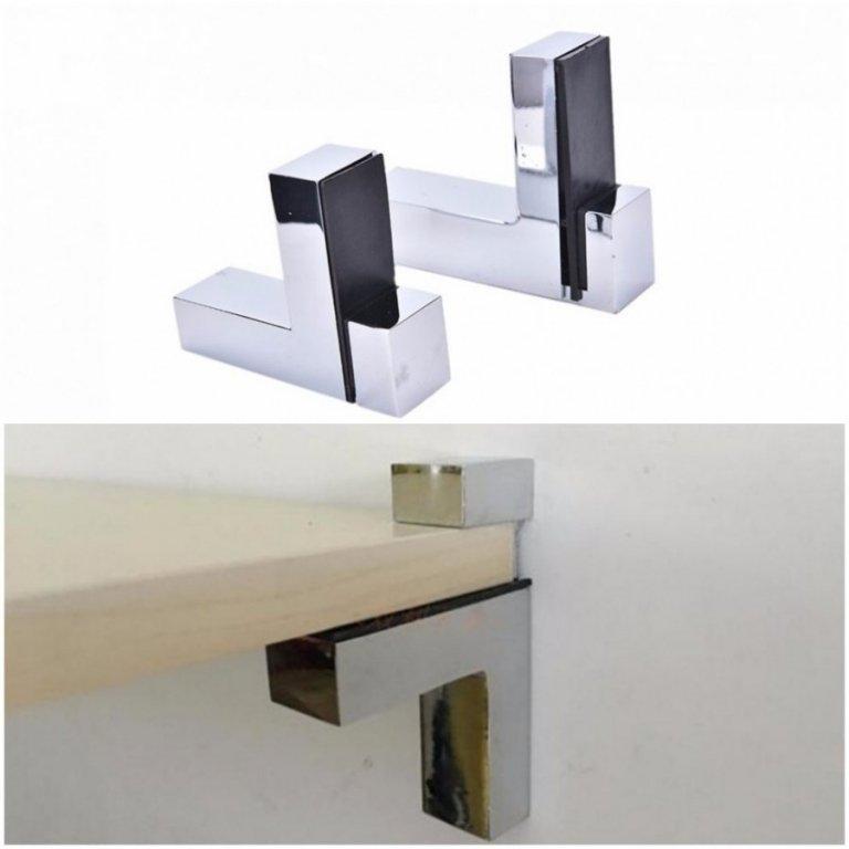 Накладные держатели считаются самыми простыми конструкциями.