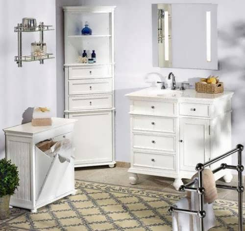 Linen cabinet for bathroom