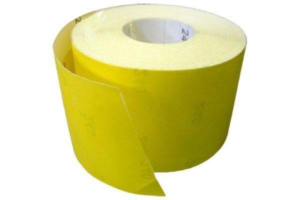 Наждачная бумага продается метражом, вы просто отрываете кусок нужного размера перед использованием