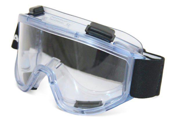Не пренебрегайте безопасностью, используйте защитные очки