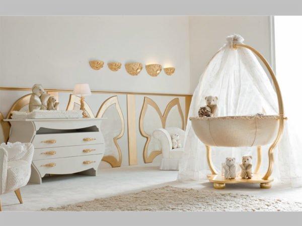 Необычная форма кроватки украсит комнату
