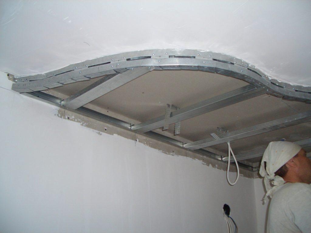 Как сделать многоуровневые потолки из гипсокартона с подсветкой