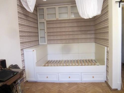 Ниша с кроватью – действенный способ эффективнее использовать полезную площадь своей квартиры