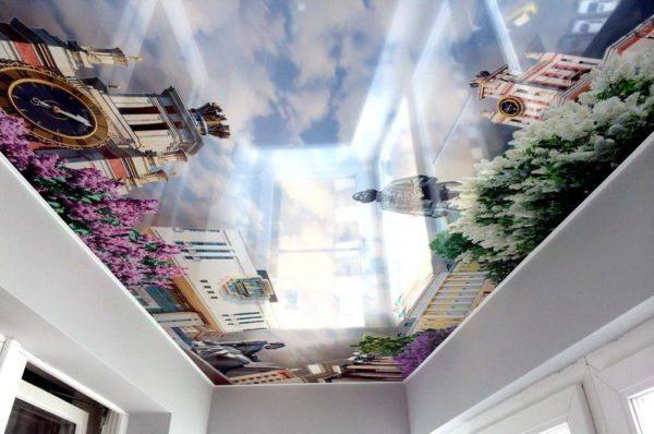 Объемное изображение может визуально изменить пространство помещения
