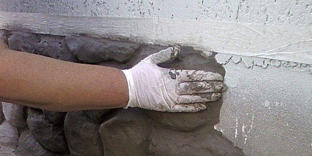 Изготовление форм для искусственного камня.