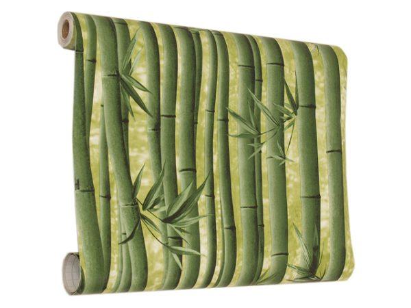 Обои Decoron Бамбук могут погрузить комнату в экзотику диких джунглей